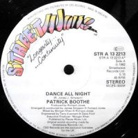 12 / PATRICK BOOTHE / DANCE ALL NIGHT