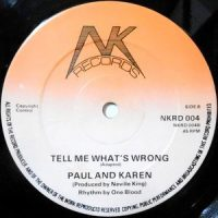 12 / PAUL AND KAREN / KAREN DIXON / TELL ME WHAT'S WRONG / I LIKE YOUR MOVE
