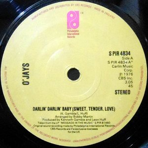 7 / O'JAYS / DARLIN' DARLIN' BABY / A PRAYER