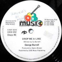 12 / GEORGE BURRELL / DROP ME A LINE