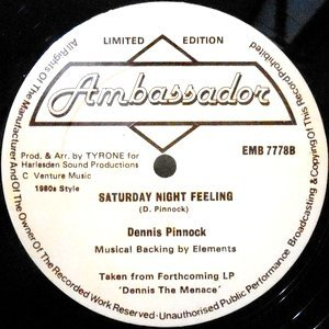 12 / DENNIS PINNOCK / THE FEELING / SATURDAY NIGHT FEELING