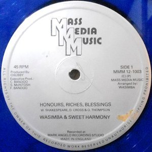 12 / WASIMBA & SWEET HARMONY / HONOURS, RICHES, BLESSINGS