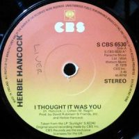 7 / HERBIE HANCOCK / I THOUGHT IT WAS YOU