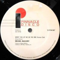 12 / MICHAEL MCGLOIRY / WON'T YOU LET ME BE THE ONE