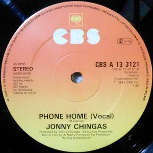 12 / JONNY CHINGAS / PHONE HOME / INSTRUMENTAL