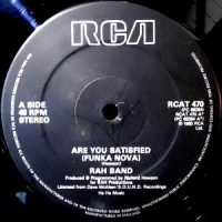 12 / RAH BAND / ARE YOU SATISFIED (FUNKA NOVA)