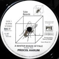 7 / PROCOL HARUM / A WHITER SHADE OF PALE