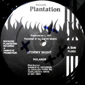 12 / ROLANDS (ROLAND BURRELL) / STORMY NIGHT