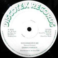 12 / DENNIS PINNOCK / RECONSIDER ME