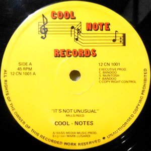 12 / COOL NOTES / IT'S NOT UNUSUAL / PEOPLE MAKE THE WORLD GO ROUND