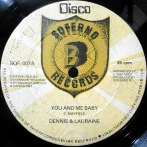 12 / DENNIS & LAURAINE / YOU AND ME BABY