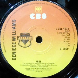7 / DENIECE WILLIAMS / FREE / CAUSE YOU LOVE ME BABY