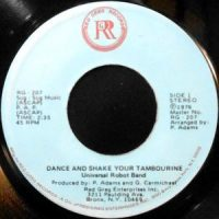 7 / UNIVERSAL ROBOT BAND / DANCE AND SHAKE YOUR TAMBOURINE