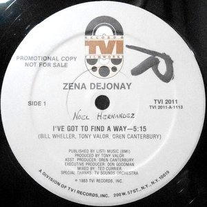 12 / ZENA DEJONAY / I'VE GOT TO FIND A WAY / (DUB VERSION)