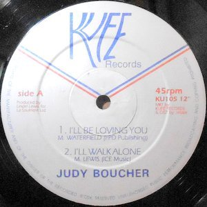 12 / JUDY BOUCHER / I'LL BE LOVING YOU / WHAT'S GOING ON