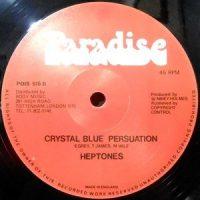 12 / HEPTONES / CRYSTAL BLUE PERSUASION