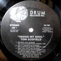 LP / TOM SCOFIELD / INSIDE MY SOUL