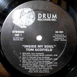 LP / TOM SCOFIELD / INSIDE MY SOUL