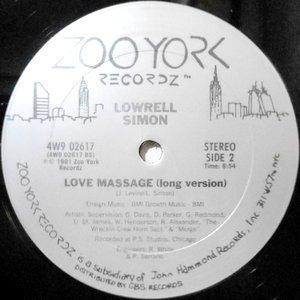 12 / LOWRELL SIMON / LOVE MASSAGE