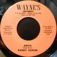 7 / RANDY SHAFER / ANITA / FOR JACKIE PT.19