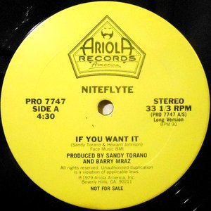 12 / NITEFLYTE / IF YOU WANT IT