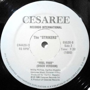 12 / STRIKERS / BODY MUSIC / FEEL FREE (DISCO VERSION)