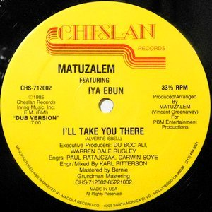 12 / MATUZALEM FEATURING IYA EBUN / I'LL TAKE YOU THERE