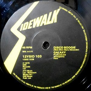 12 / GALAXY / DISCO BOOGIE / BOOK OF RULES