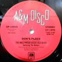 12 / THE HOLLYWOOD DISCO JAZZ BAND FEATURING THE WATERS / DON'S PLACE