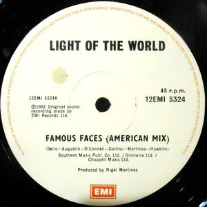 12 / LIGHT OF THE WORLD / FAMOUS FACES (AMERICAN MIX) / GET ON BOARD