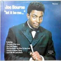 LP / JOE BOURNE / LET IT BE ME