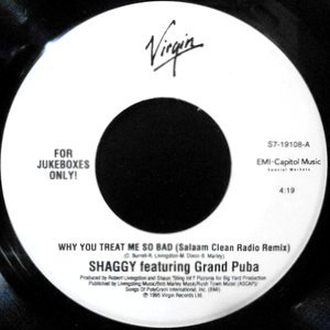 7 / SHAGGY FEATURING GRAND PUBA / WHY YOU TREAT ME SO BAD (SALAAM CLEAN RADIO MIX)
