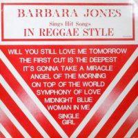 LP / BARBARA JONES / SINGS HIT SONGS IN REGGAE STYLE