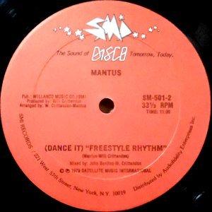 12 / MANTUS / (DANCE IT) FREESTYLE RHYTHM