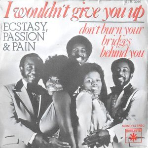 7 / ECSTASY, PASSION & PAIN / I WOULDN'T GIVE YOU UP