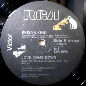 12 / EVELYN KING / LOVE COME DOWN / (INSTRUMENTAL)