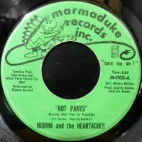 7 / NORMA AND THE HEARTACHES / HOT PANTS