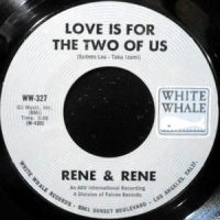 7 / RENE & RENE / LOVE IS FOR THE TWO OF US / SALLY TOSIS