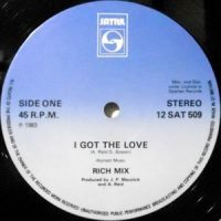 12 / RICH MIX / I GOT THE LOVE / (DUB MIX)