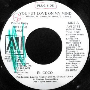 7 / EL COCO / YOU PUT LOVE ON MY MIND / LOVE BIZNESS