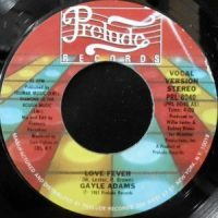 7 / GAYLE ADAMS / LOVE FEVER / (INSTRUMENTAL)