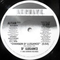 12 / D' LLEGANCE / CHANSON D' LLEGANCE / (MIX-X-XTEND VERSION)