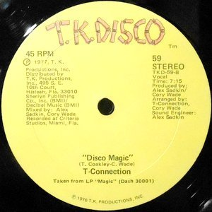 12 / T-CONNECTION / DISCO MAGIC