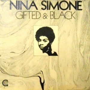 LP / NINA SIMONE / GIFTED & BLACK