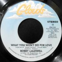 7 / BOBBY CALDWELL / WHAT YOU WON'T DO FOR LOVE