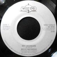 7 / BILLY NICHOLS / MY WOMAN / DIAMOND RING