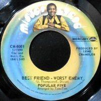 7 / POPULAR FIVE / BEST FRIEND - WORST ENEMY /