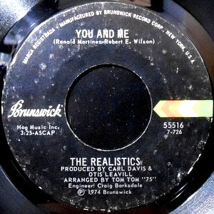 7 / REALISTICS / YOU AND ME / I THINK I'LL CRY OUT LOUD