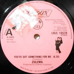 12 / ZULEMA / YOU'VE GOT SOMETHING FOR ME