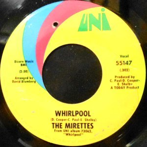 7 / MIRETTES / WHIRLPOOL / AIN'T YOU TRYING TO CROSS OVER